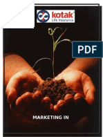 Insurance Marketing mix