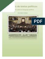 Análisis de textos políticos