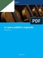 La spesa pubblica regionale
