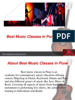 Best Music Classes in Pune