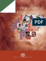 Informe sobre las Migraciones en el Mundo 2013 – El Bienestar de los Migrantes y el Desarrollo