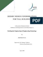 Seismic Design Considerations for Tall Buildings_Dissertation2008-PhamTuan[1]
