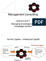 Lecture 6 and 7 - Management Consulting - New