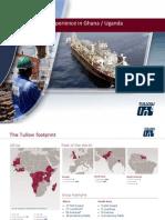 Paul Coward, Tullow Oil, On EISA in Ghana and Uganda
