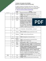 Cal Acad Dates 13 14