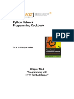 9781849513463_Python_Network_Programming_Cookbook_Sample_Chapter