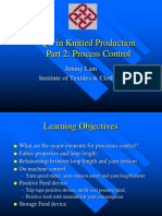 Process Control Knitting