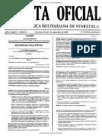 Gaceta Oficial Extraordinaria 5930 04 Septiembre Reforma COPPLt