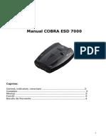 Manual Cobra 7000