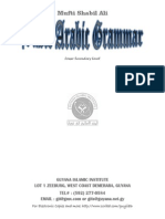 Basic Arabic Grammar