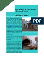 Horno de Carlos Meneses en Osera de Ebro