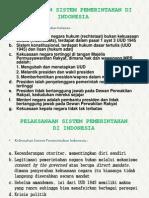 Kelebihan Sistem Pemerintahan Indonesia