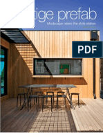 Sanctuary magazine issue 9 - Prestige prefab - Modscape green home profile