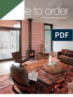 Sanctuary magazine issue 9 - Prebuilt green home profile