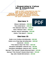 Classic Superstars Collector's Value Guide & Checklist