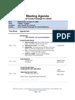C4L Meeting Agenda -10-21-2009