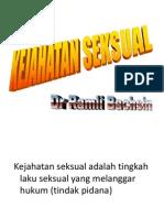 Kejahatan Seksual