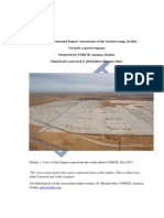 Zaatari Environmental Report, January 2014[1]