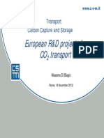European R&D Project for CO2 Transport