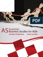 AS Business Studies for AQA