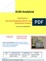 Gas Chromatography (GC) Lecture Notes