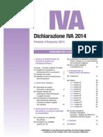 IVA Annuale 2014 Istruzioni