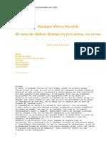Un Cura de aldea _drama e3 actos_ _ Enrique Pérez Escrit