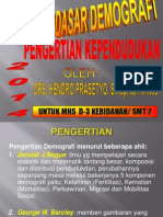 2. New Pengertian Kependudukan Hp 2014