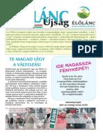 Élőlánc Újság - 2014