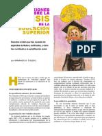 Reflexiones sobre la crisis de la educación superior_A.H. Toledo (2003-17)