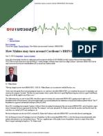 How Malmo may turn around Cardiome's BRINAVESS _ BioTuesdays