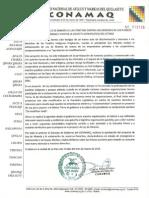 Pronun Conamaq Ley Mineria 20.03.14
