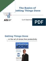 Getting Things Done Basics