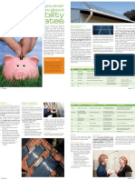 Sanctuary magazine issue 9 - Everything you ever wanted to know about sustainability rebates - green home feature article