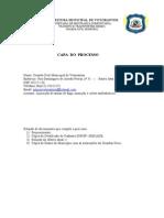Capa Do Processo Do ExBr