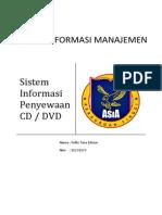 Sistem Informasi Rental CD