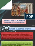 Formacion de La Monarquia Nacional en La Edad