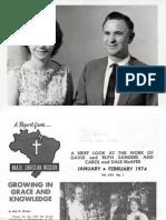 Sanders LDavid Ruth 1974 Brazil