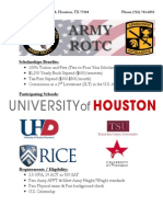 2014 ROTC Scholarship Flyer