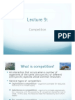 Lecture 09 Competition Ecology