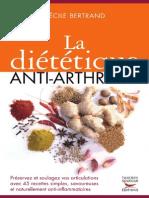 La Dietetique Anti-Arthrose