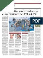 CCL Niño severo reducirá PBI a 4.6%_Gestión 21-03-2014