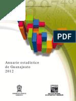 Anuario Estadistico 2012 Guanajuato