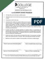2014 KD Scholarship