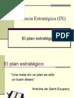 9. El Plan Estratégico