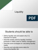 Liquidity ppt