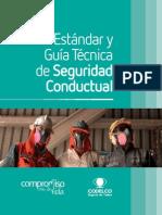 Estándar y Guía Técnica de Seguridad Conductual