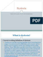 dyslexia parent night
