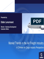 Market Trends in the Air Freight Industry