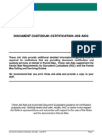 Document Custodians Job Aid